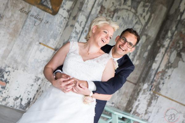 Bruiloft Rinaldo en Melanie